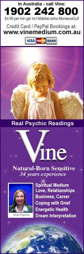 Call Melbourne Psychic Medium Vine