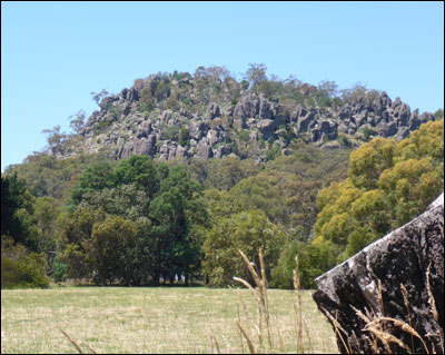 Vine Psychic Energy and Ley Lines around Hanging Rock