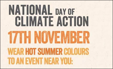 Vine Psychic National Day of Climate Action