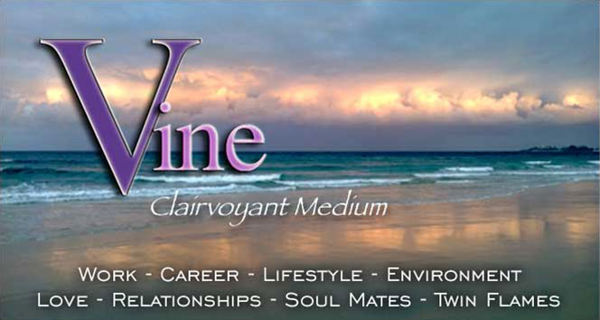 Vine Psychic - Melbourne Born Clairvoyant Medium - Psychic Readings for Work, Career, Lifestyle, Love, Relationships, Soul Mates, Twin Flames, Environmental Issues