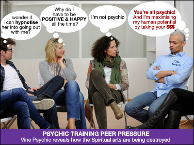 Vine - Psychic Training Course Group Peer Pressure