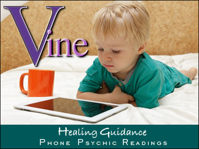 Vine Psychic Healing Guidance - Learning Difficulties associated with electromagnetic radiation and wi-fi. Health risks for toddlers using Ipads and Digital Tablets