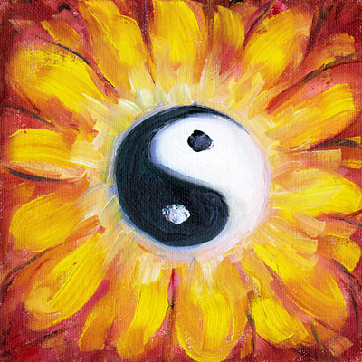 Vine Psychic Light Dark Yin Yang