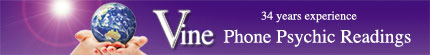Vine Psychic Bookings - Clairvoyant Medium Melbourne, Australia- Discounted Raeadings