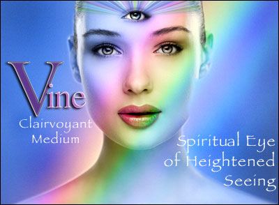 Vine Psychic Third Eye Chakra - Spiritual Eye of Heightened Seeing