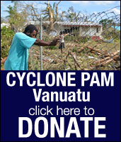 Cyclone Pam DONATE here