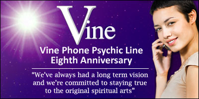 Vine Psychic Readings Line Eighth Anniversary