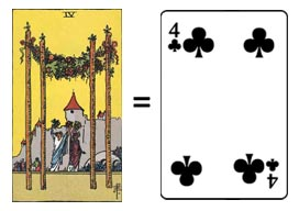 Tarot Cards vs Traditional Playing Cards