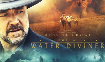 Spiritual Review of The Water Diviner by Psychic Vine