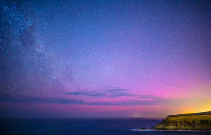 aurora australis from NSW