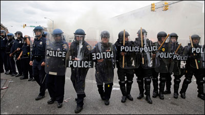 Baltimore Police trained by Israel