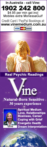 Best Phone psychic readings by Melbourne clairvoyant medium Vine