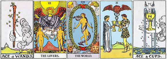 Tarot Cards can be used as a psychic reading modality